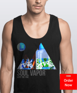 Mountain Tank Black | Soul Vapor Apparel