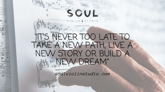 Can I learn to play violin as an adult? - soul violin studio