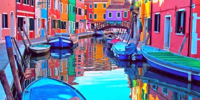 Visit Colorful Villages & Cities Around The World