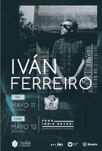 Ivan Ferreiro flyer