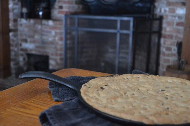 cookie in cast iron