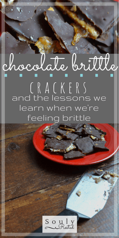 chocolate brittle crackers