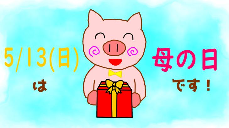 もうすぐ母の日!そぅもん的プレゼント注目ランキング!in 2018