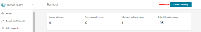 Bing Sitemap
