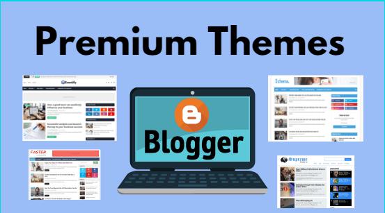 blogger premium template