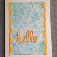 Card #15  - Hello