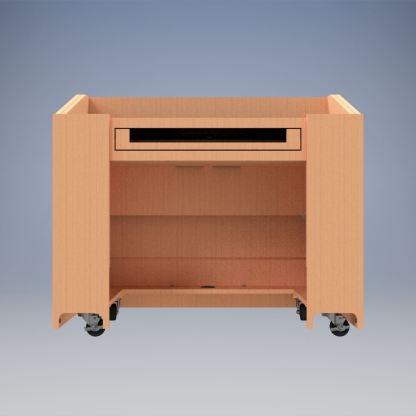 ADA Desk rear