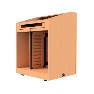 podium without doors