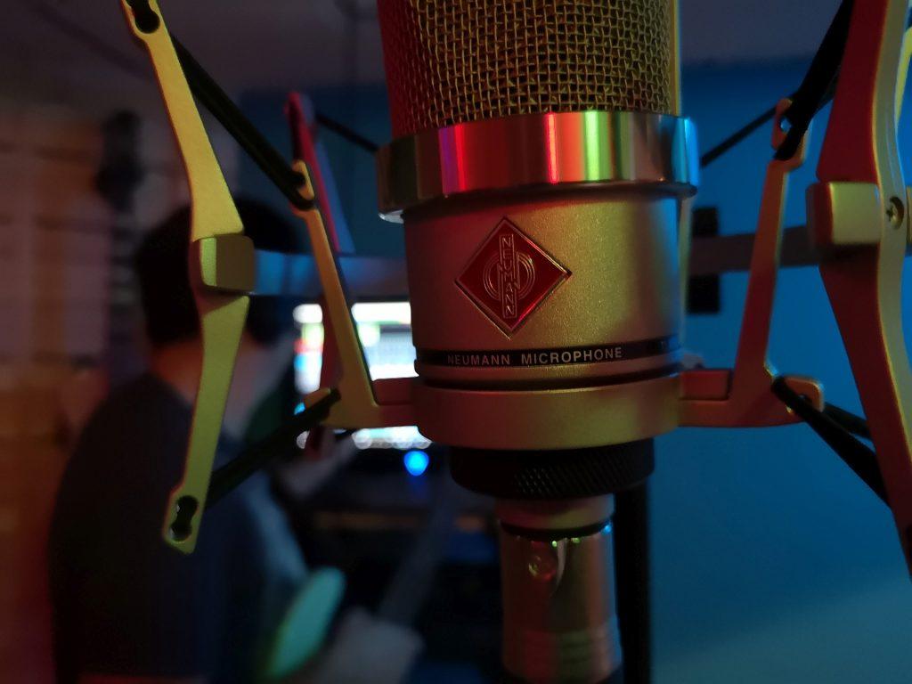 Neumann mic @ Sound-Rehab