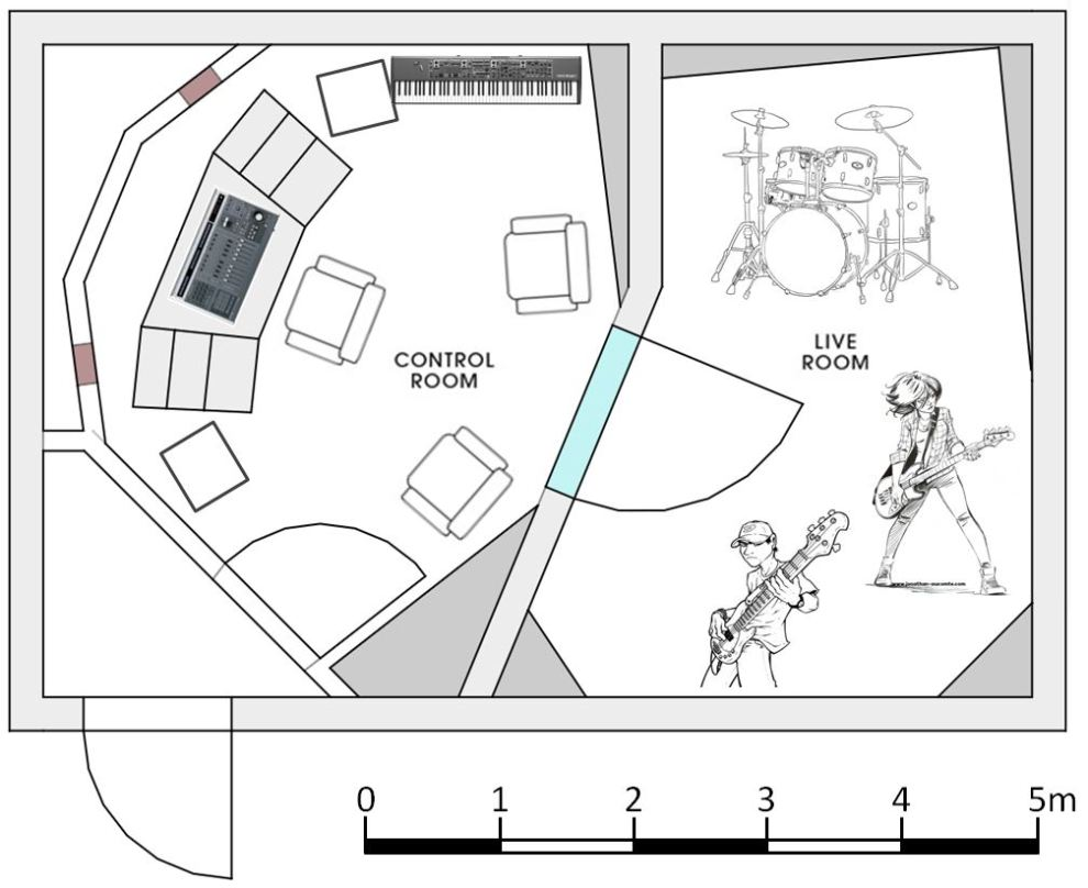 Sound Rehab Floorplan