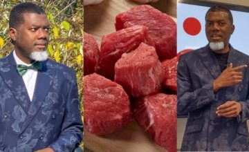 """""""Stop Eating Red Meat Because It's Dangerous To Your Health"""" Reno Omokri Warns General Public"""