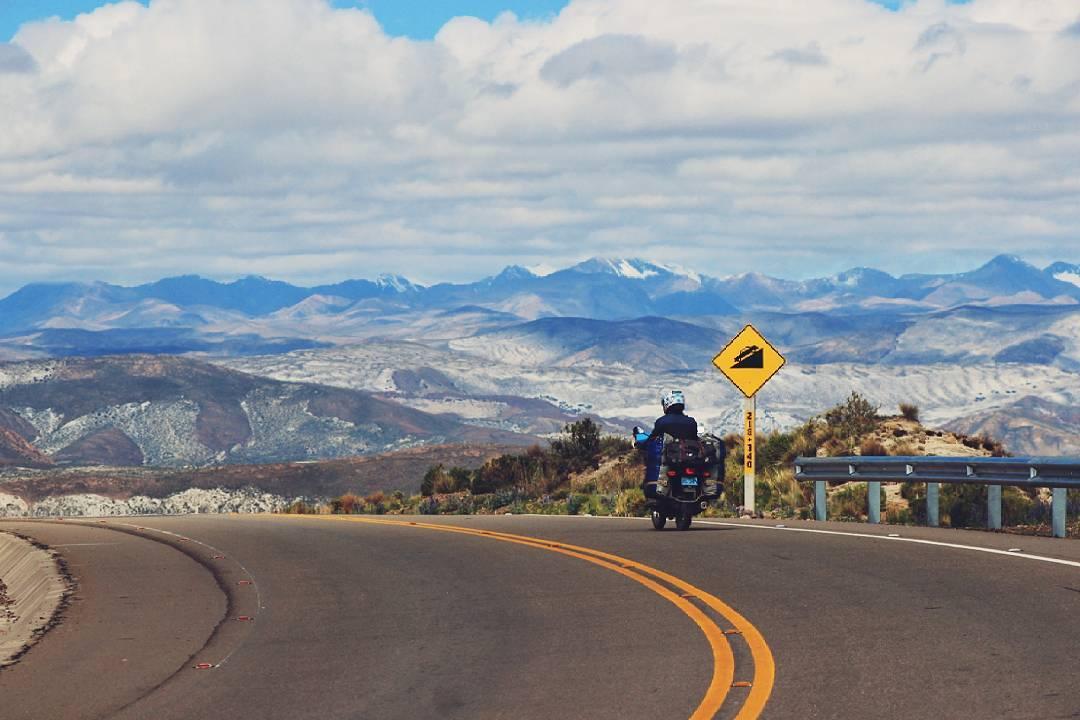 Путешествие на мотоцикле по Боливии, часть 1