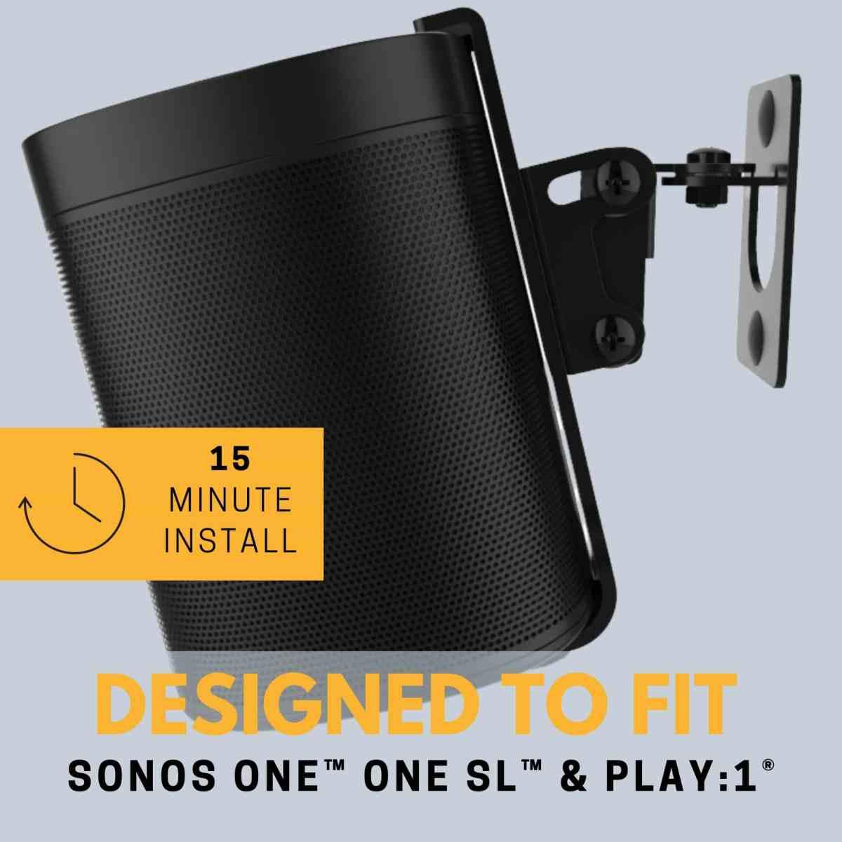 SOUNDBASS-SONOS-ONE-WALL-MOUNT-BRACKET