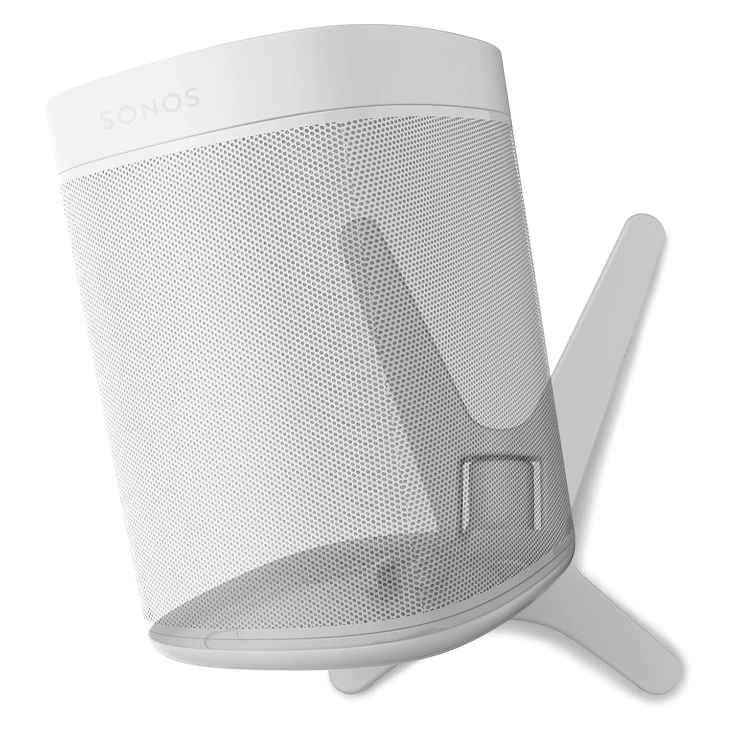 ONE, ONE SL, Play:1 - Premium X Wall Mount Bracket - White - Compatible with SONOS ONE, ONESL & Play:1