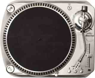 Crosley DJ100 Turntable with Preamp