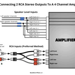 2 Amp Wiring Diagram Mazda 626 3 Speakers To A Channel Great Installation Of 4 Simple Schema Rh Lodge Finder De 1