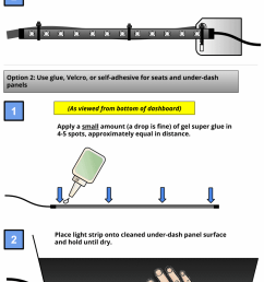 how to install led light strips in a car how to install led strip lights in car with switch wiring led strip lights in car [ 788 x 1898 Pixel ]