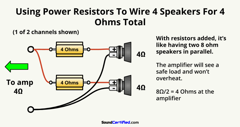 How To Hook Up 2 Amps With A Capacitor