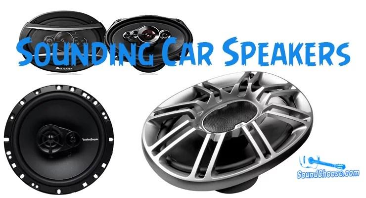 best sounding car speakers