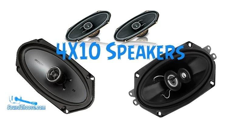 best 4x10 speakers