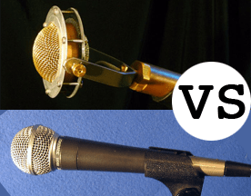 Condenser vs. Dynamic Microphones For Live Sound