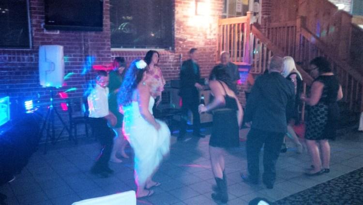 Sarah and Matt wedding reception. DJ services by Sound Dynamix.