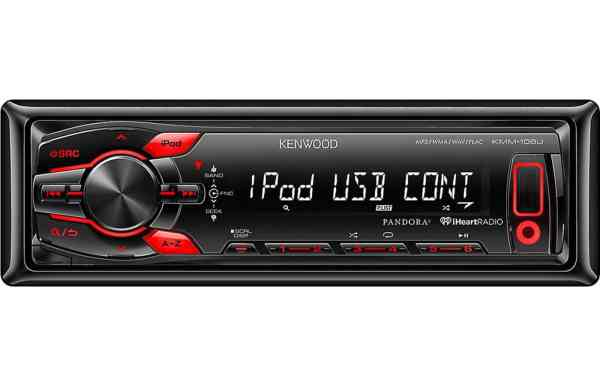 KMM108 USB car radio