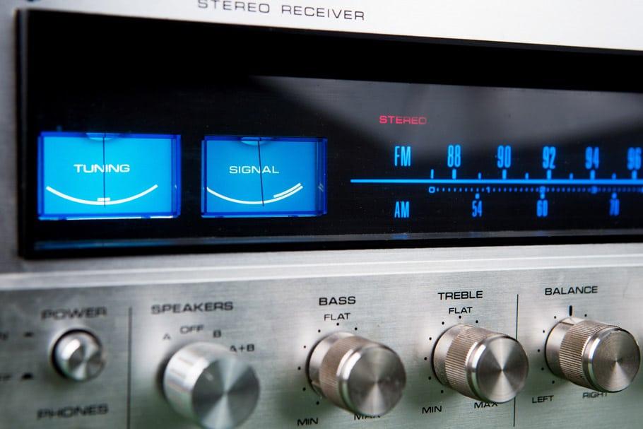 Hifi stereo receiver