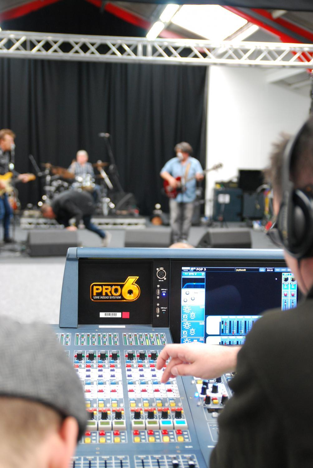 Industry-designed Live Sound Technology course available as