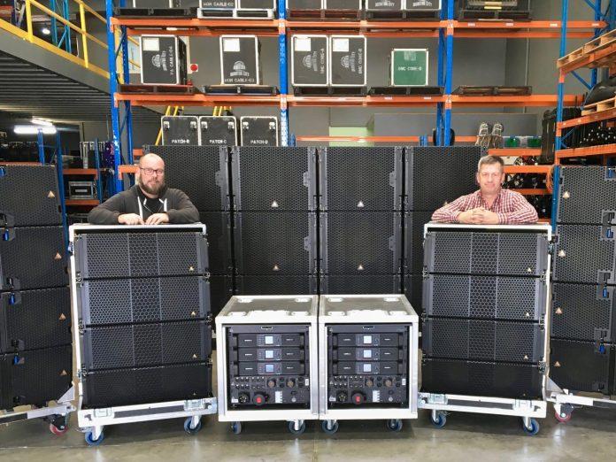Monitor City's Matt Dufty (left) & Adrian Barnard
