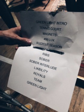Lorde-Surprise-Concert-Setlist