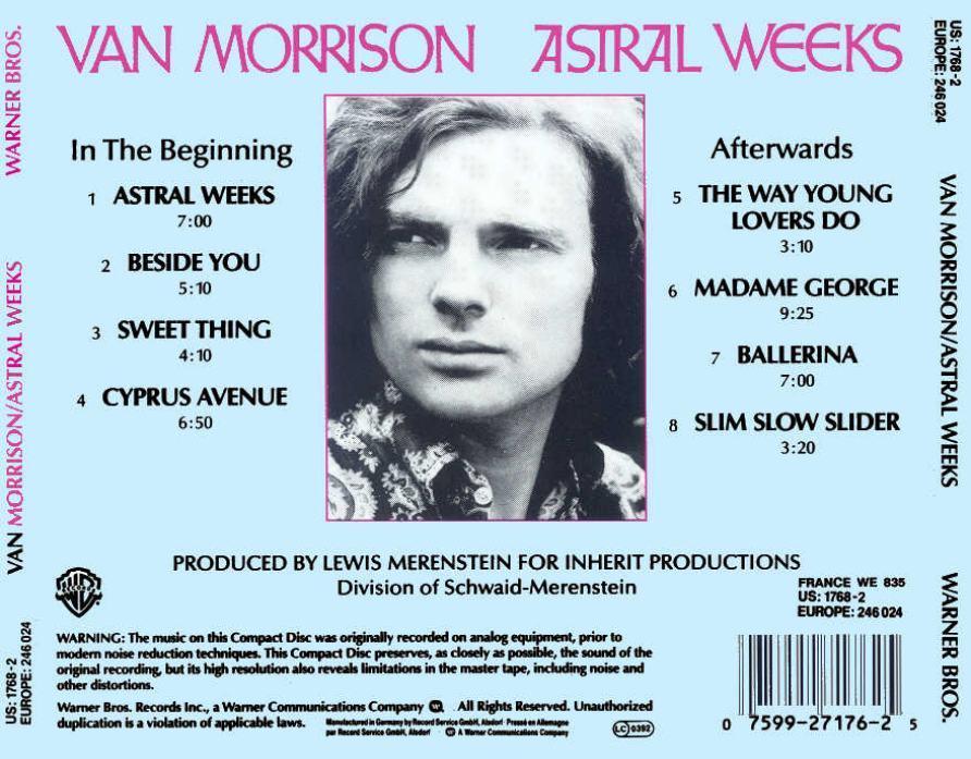 """""""Astral Weeks"""" de Van Morrison, la place du mystique dans un album légendaire"""