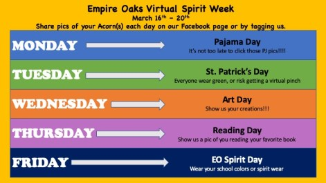 Empire Oaks Spirit Week image