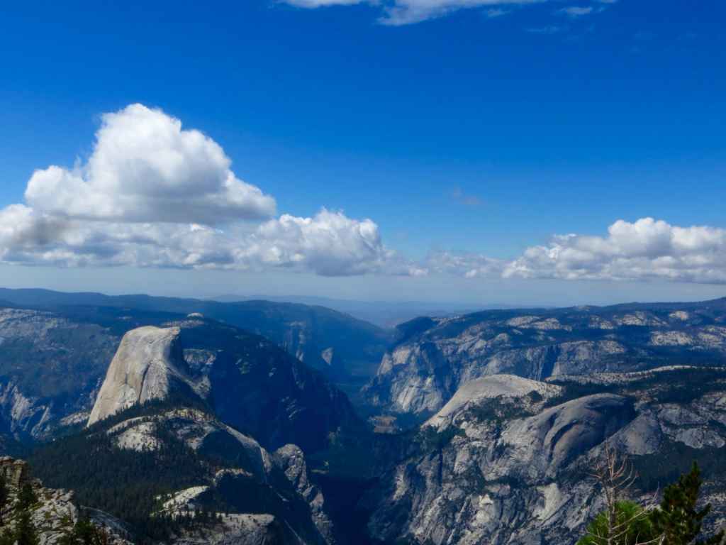 Half Dome from Cloud's Rest