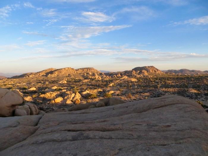 Jumbo rocks looking south, Joshua Tree