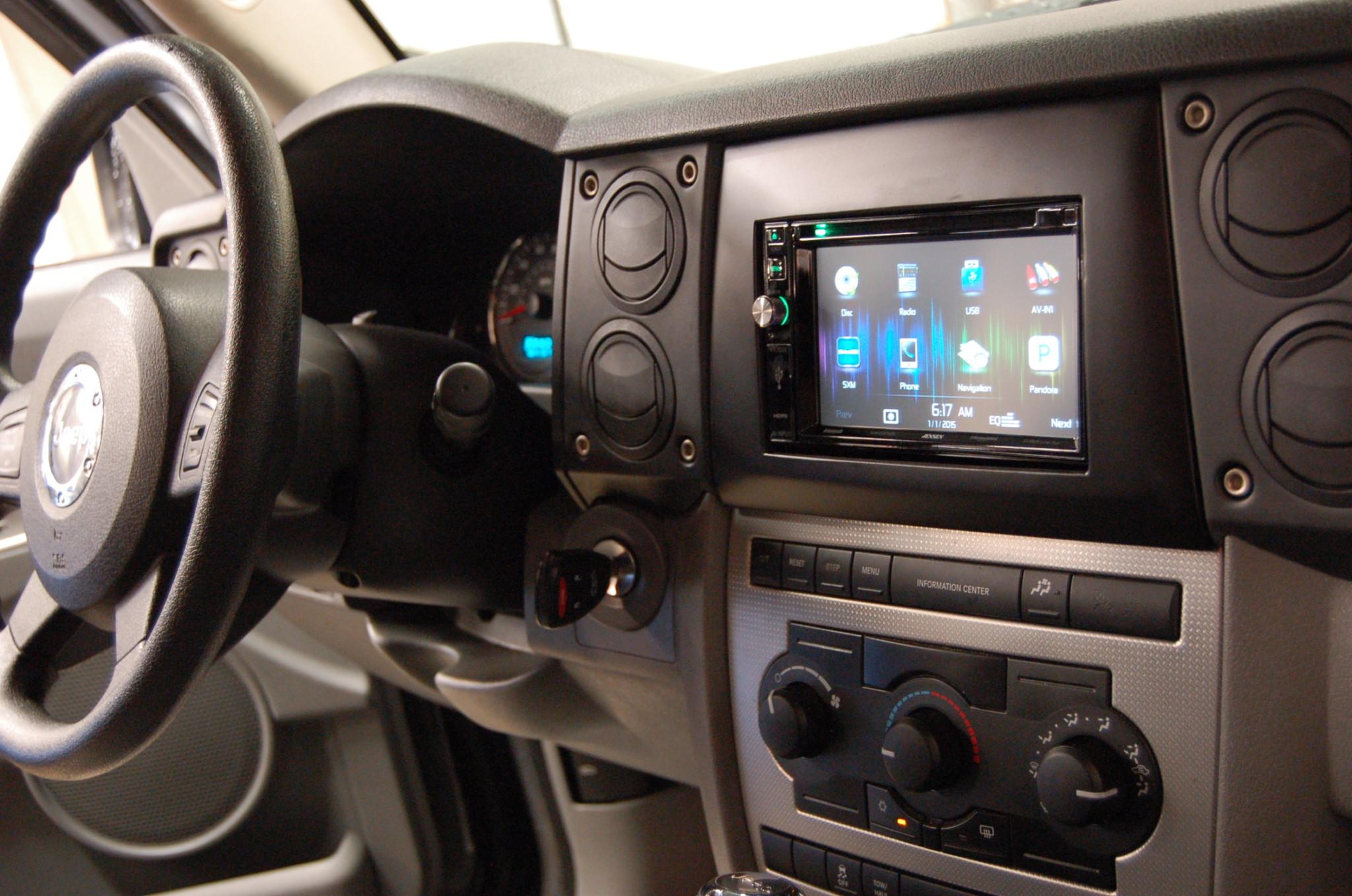 2016 Jeep Commander Custom Dash Sound Investment