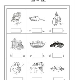 Ou Or Ow Worksheet   Printable Worksheets and Activities for Teachers [ 3508 x 2480 Pixel ]