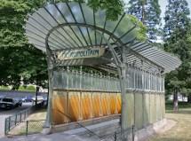 Hector Guimard Paris Metro Entrance