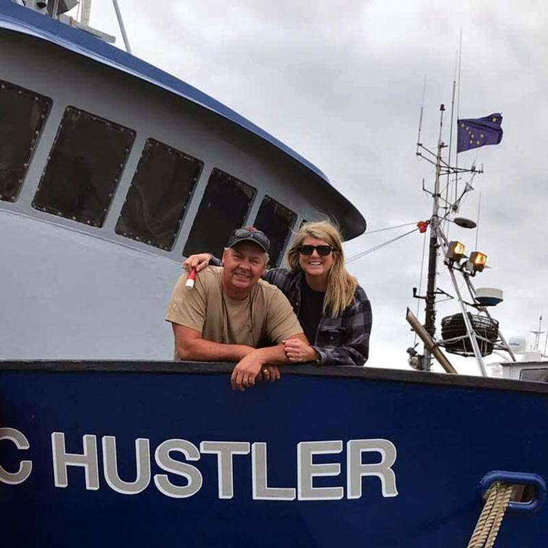 owners Allen and Gina Oakley of Sound Leader Seafoods