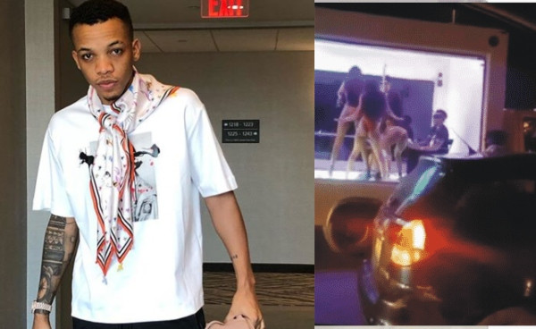 Tekno reacts to his speculated face-off with Lagos State Government for dancing with half-naked girls in transparent truck