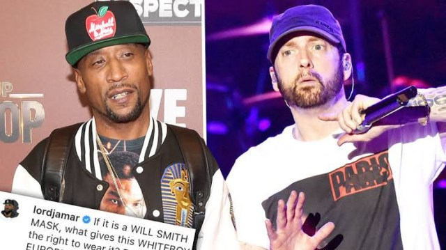 Lord Jamar subtly accuses Eminem of being racist after photo of Eminem wearing a Will Smith