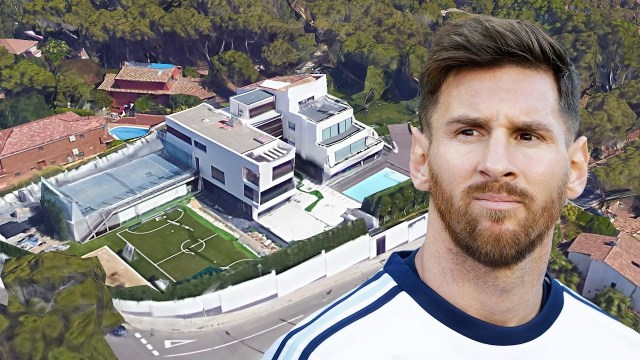 Airplanes are banned from flying over Lionel Messi's house? Here's why.