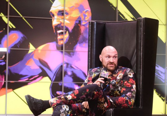 British boxer, Tyson Fury reveals he is 'licking p***y'