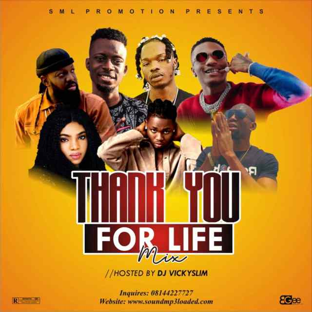 Dj Vickyslim _ Thank You For Life Special Mix