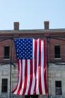 American Flag at Newport Folk Festival by Jon Simmons