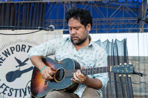 Amy Helm's Guitarist by Jon Simmons