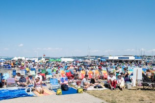 Newport Folk Festival Crowd by Jon Simmons