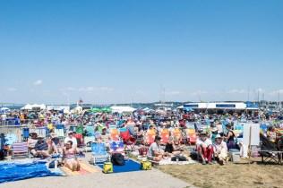 Newport Folk Festival Crowd by Jon Simmons