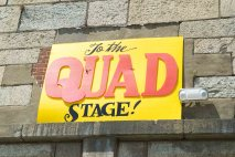 Quad Stage Sign Newport Folk Festival by Jon Simmons