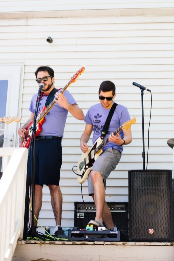 Tall Boys at Porchfest | Photo by Knar Bedian